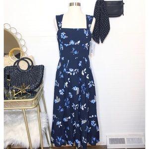 NEW Antonio Melani Eyelet Embroidered Midi Dress